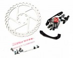 Тормоз Avid BB7 MTB Graphite 180mm G2CS Rotor Front/Rear